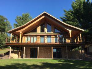Alexander Lake home Wascott WI
