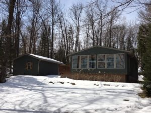 Nelson Lake home Hayward WI